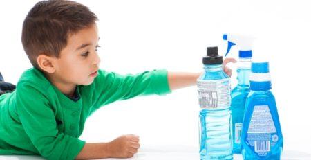 Интоксикация ребёнка ртутью